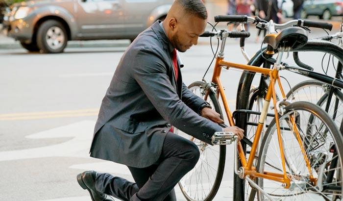 how to unlock a bell bike lock