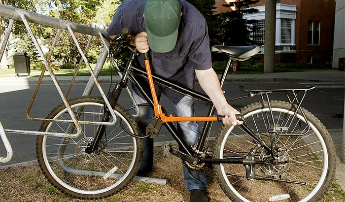 how to unlock a bike lock without a key