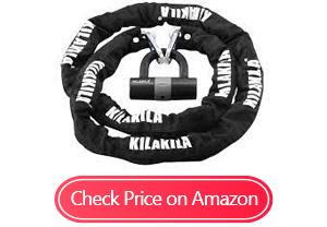 kilakila security chain bike locks