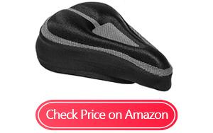roam padded bike seat cushion cover