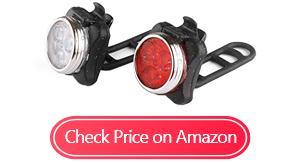 ascher usb rechargeable bike lights