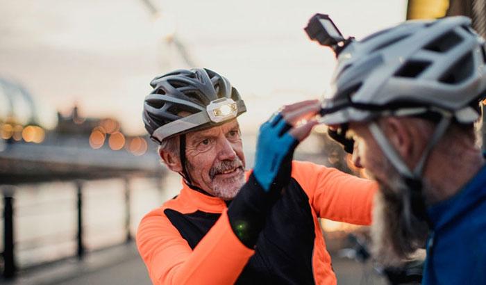 best bike helmet light