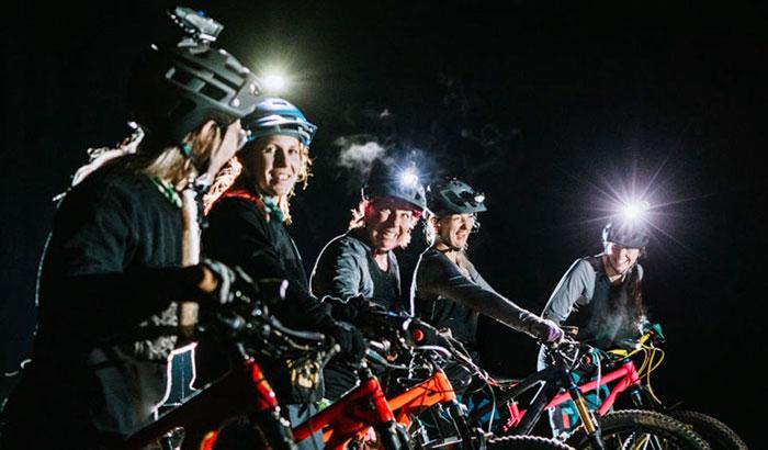 best mountain bike helmet light