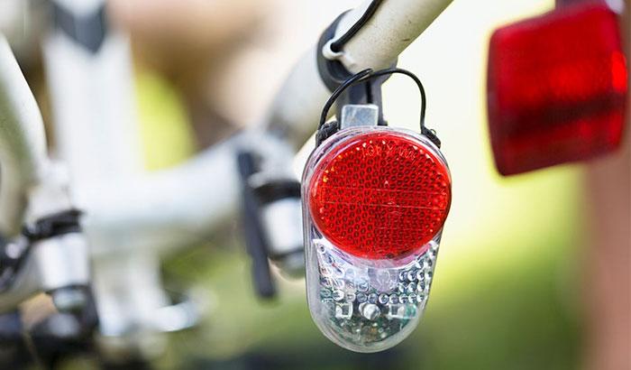 bike reflector requirements outside america