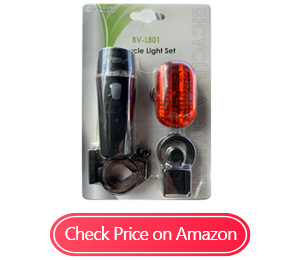 bv bicycle led taillight lights