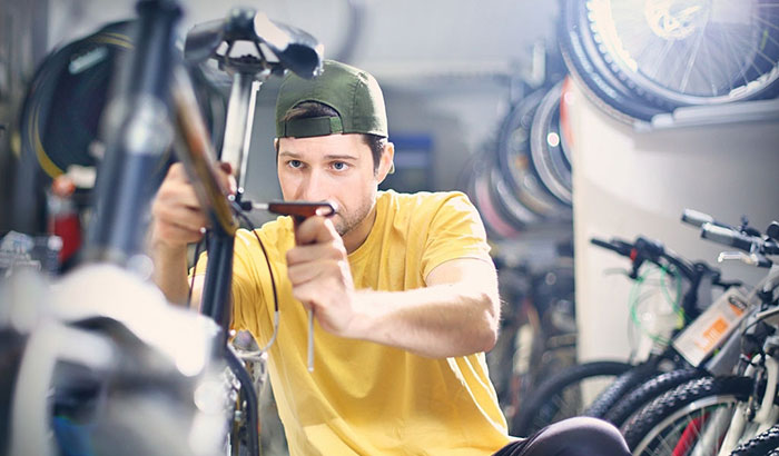 how to replace bicycle seat