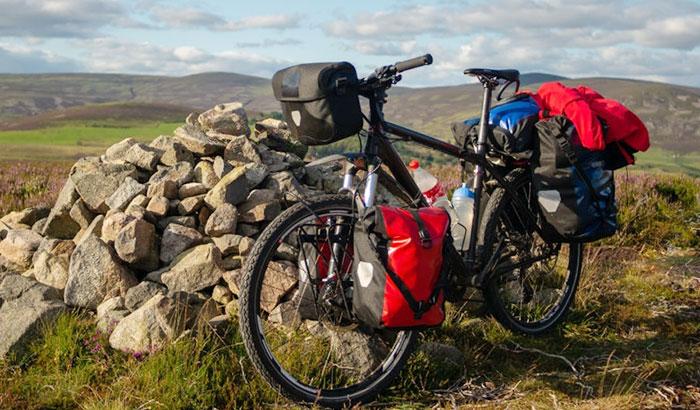 how to pack the bike using a bike bag
