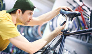 how to replace a bike seat