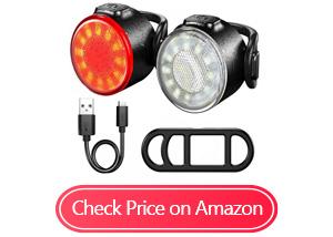 leyic led ipx5 mountain bike lights