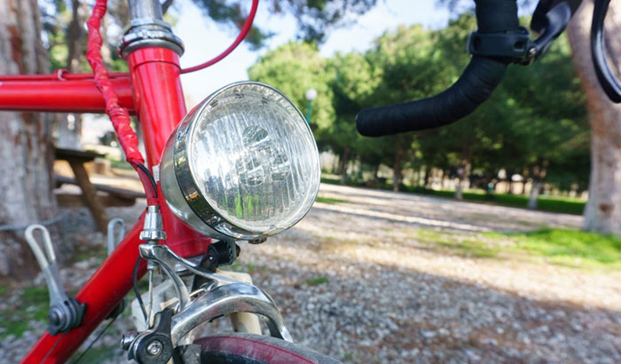 setting up your bike lights