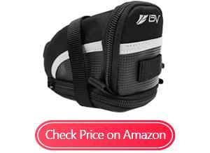 bv bicycle strap-on bike saddle bags