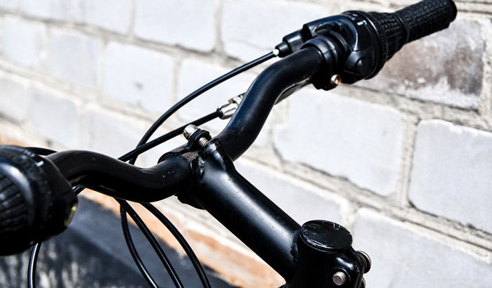 how to avoid brake cables with bike frame bags