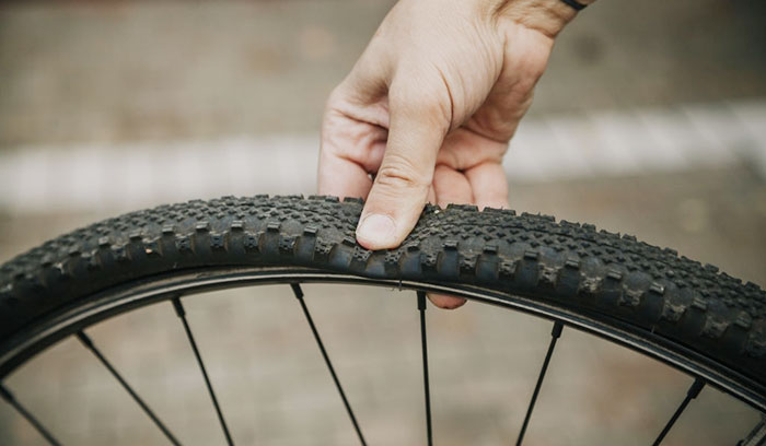 how to measure a bicycle tire
