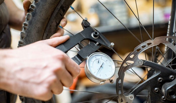 how to measure wheel size on a bike
