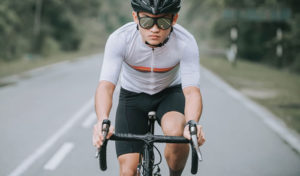 does biking work abs
